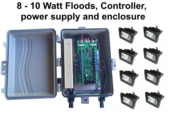10W flood package